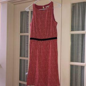 LOFT Polka Dot Dress